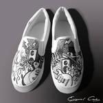 Custom shoes - guitars
