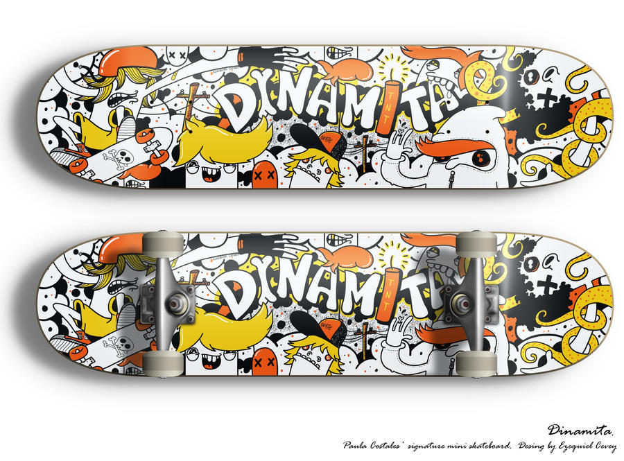Dinamita Skateboard by surfender