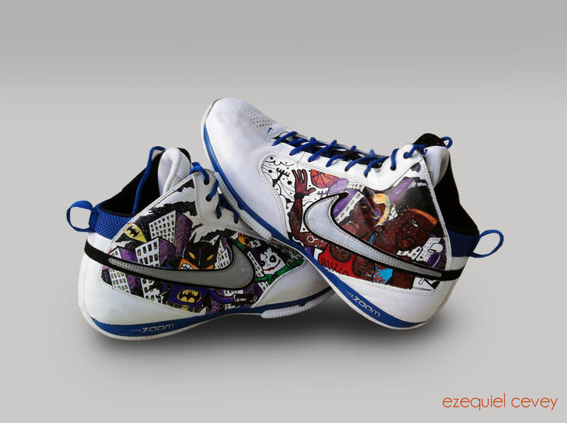 Sick Custom Basketball Shoes
