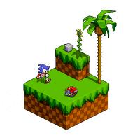 Isometric Green Hill by Jofinin