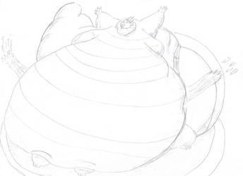 sumo smoohs drakenboy35 by saintdraconis