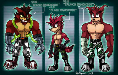 Crunch and his Prototypes.