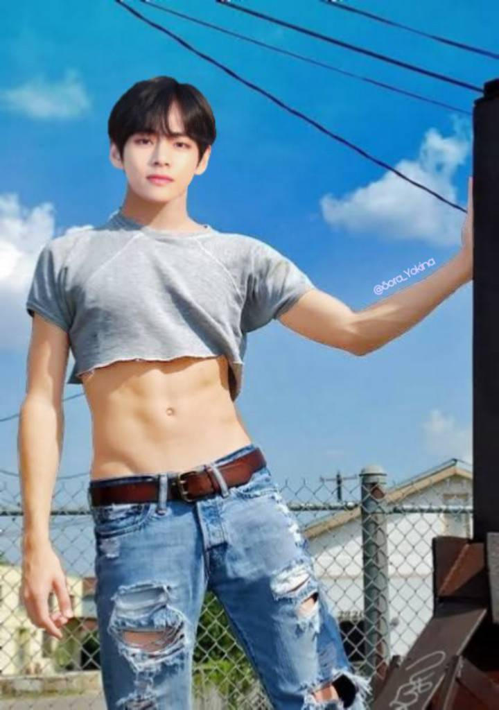 Taehyung Sexy Abs By Kotorimarie On Deviantart
