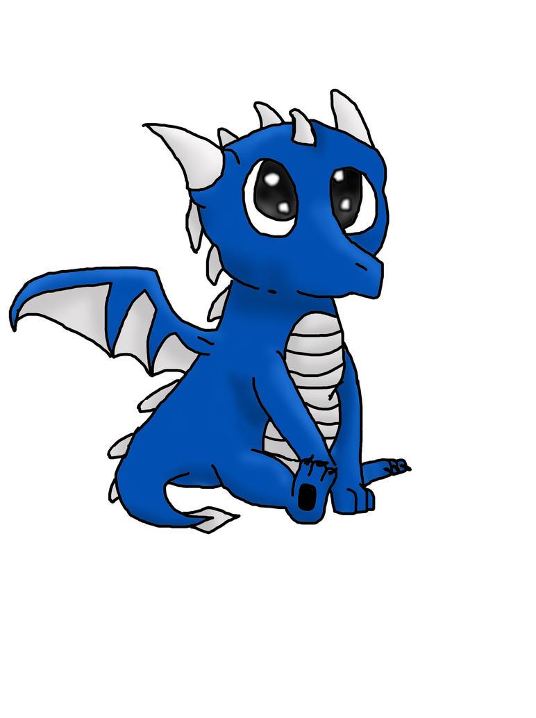 Baby Dragon by H0wlingSheWolf on DeviantArt