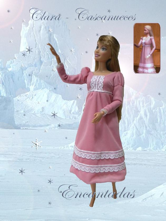 Barbie as clara in the nutcracker costume by encantadas on deviantart