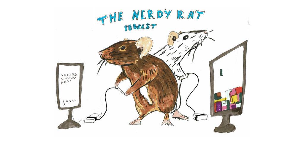 The Nerdy Rat Logo by thenerdyrat