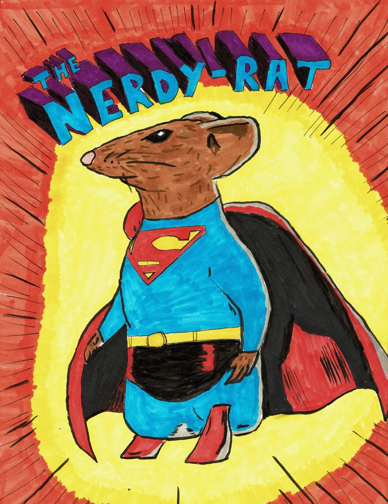 Super-Rat by thenerdyrat