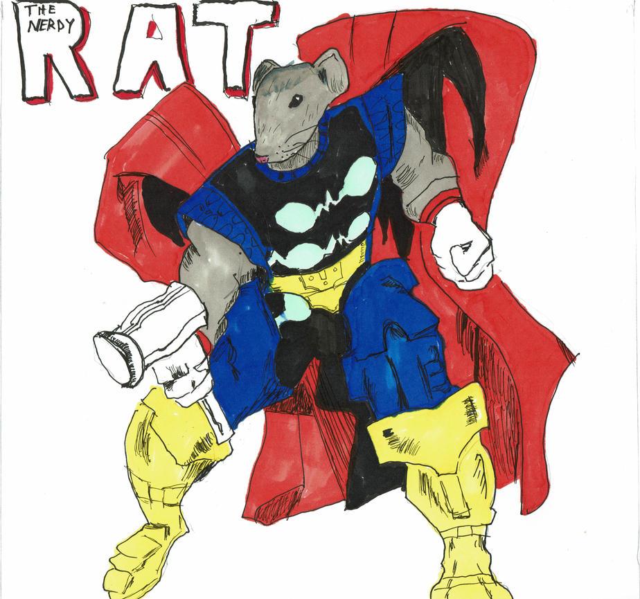Thor Rat by thenerdyrat