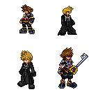 Kh2 Sora and Roxas MMZ style by OmegaSlaserdude-EXE