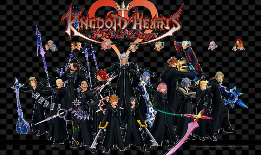 Kingdom Hearts 358 2 Days PSP