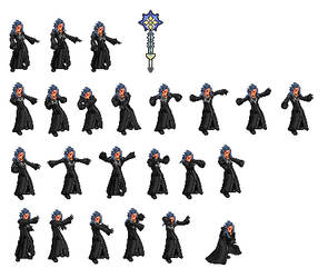 Saix sprites belonging to CNA by OmegaSlaserdude-EXE