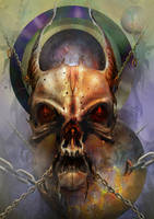 KAOS - Deathmetal by kaber13