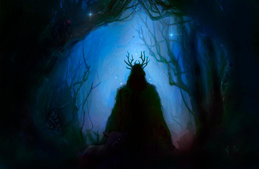 Dark Wood by kaber13