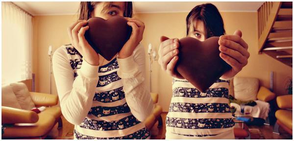 Chocolat heart. by dusielecc