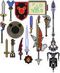 Other Weapons of Kingdom Hearts