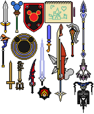 Other Weapons Of Kingdom Hearts By Shadows Twilight On Deviantart