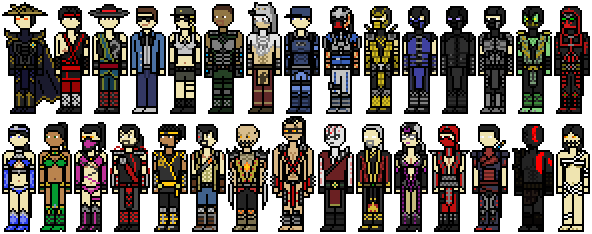 Mortal Kombat (2011) Alternate Costumes by Shadows ...