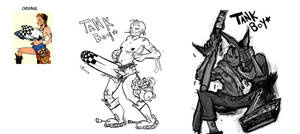Tank Boy : Blog Theme ReGender