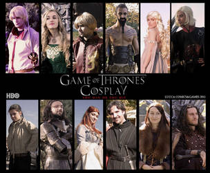 Game of Thrones - Cast cosplay by Elisa-Erian