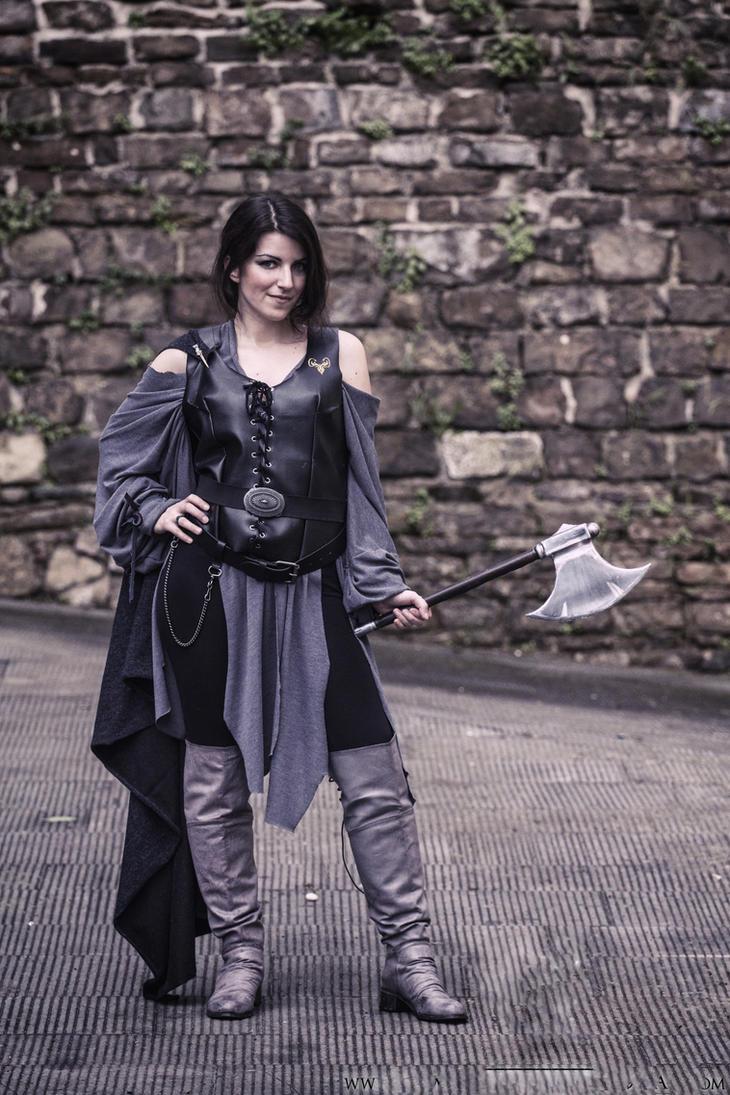 Asha greyjoy 4 by Elisa-Erian
