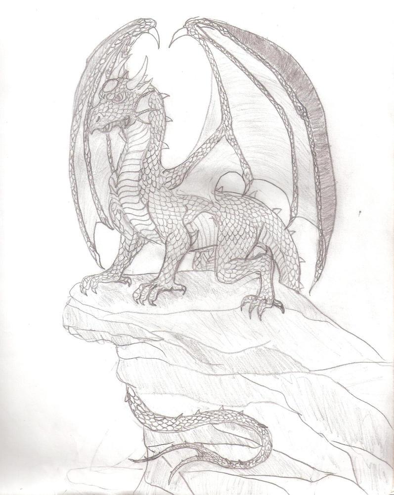 Dragon: Western Dragon by LoreMaster01