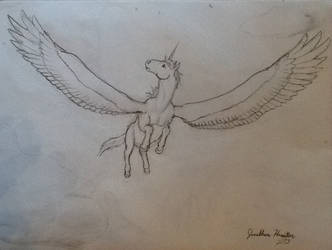 Winged Unicorn 1 by LoreMaster01