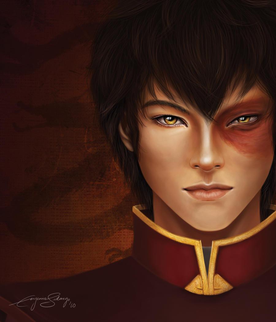 Prince Zuko portrait by FreyWillhazen