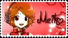 Vocaloid Meiko Sakine Stamp