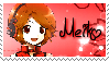 Vocaloid Meiko Sakine Stamp by BrunaLH