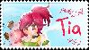 OC Tia Stamp by Nanaiko