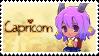 Zodiac Capricorn Stamp by Nanaiko