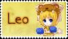 Zodiac Leo Stamp by Nanaiko