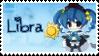 Zodiac Libra Stamp by BrunaLH