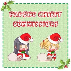[CLOSED] Padoru Chibit Commissions!
