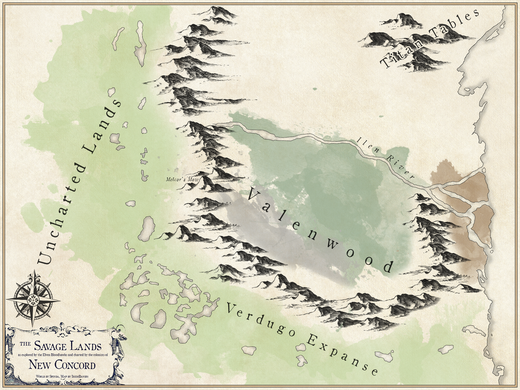 Savage Lands by TheIrishBandit
