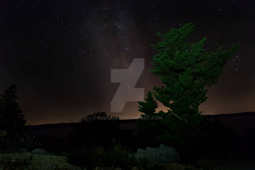 Milky Way Baric Draga Croatia