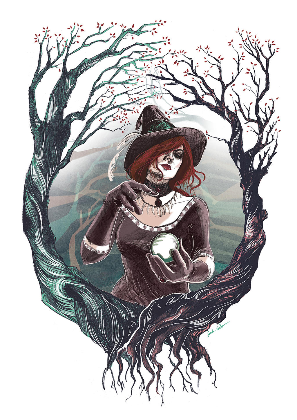 Hedge Witch By Ratherlemony On Deviantart The witch by zulisja on deviantart. deviantart