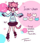 Ref-Sheet Icon-chan