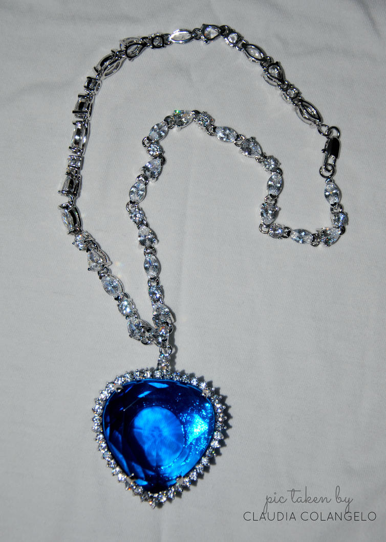 Real Heart Of The Ocean Necklace For Sale