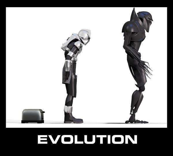 Evolution by grenadeh