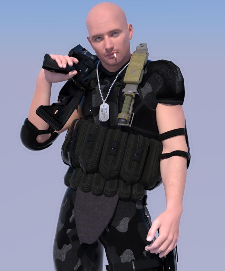 Hans LuxRender by grenadeh
