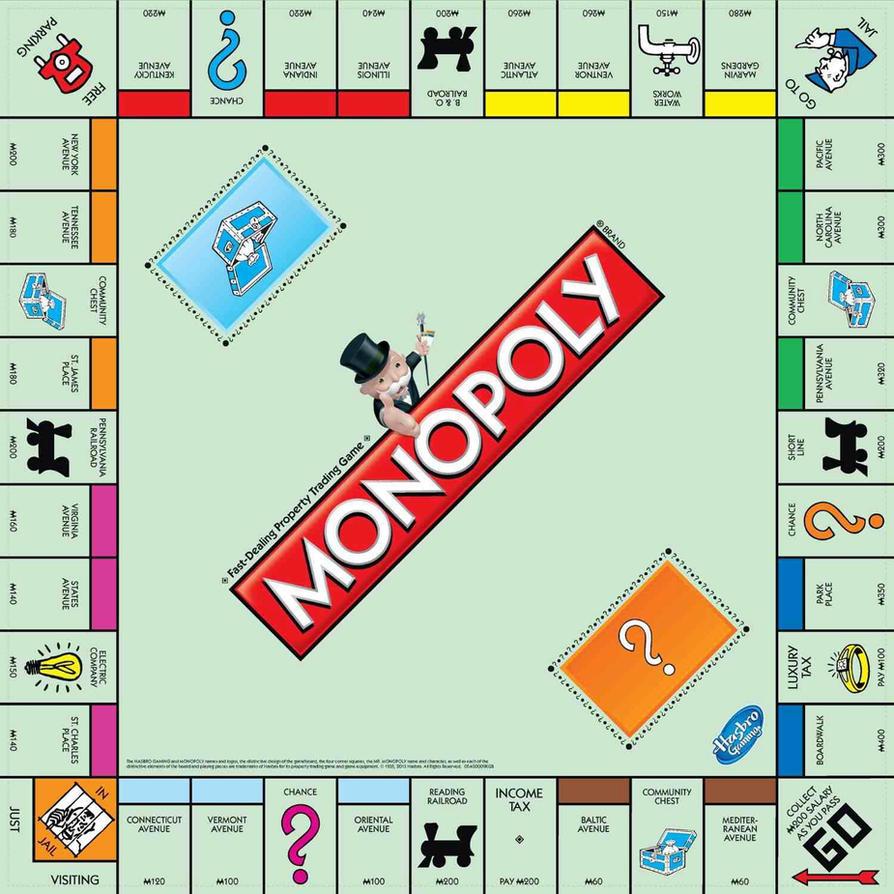 Monopoly board 2013 by jdwinkerman on deviantart for Monopoly money templates