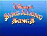 Disney's Sing Along Songs 1 by JDWinkerman