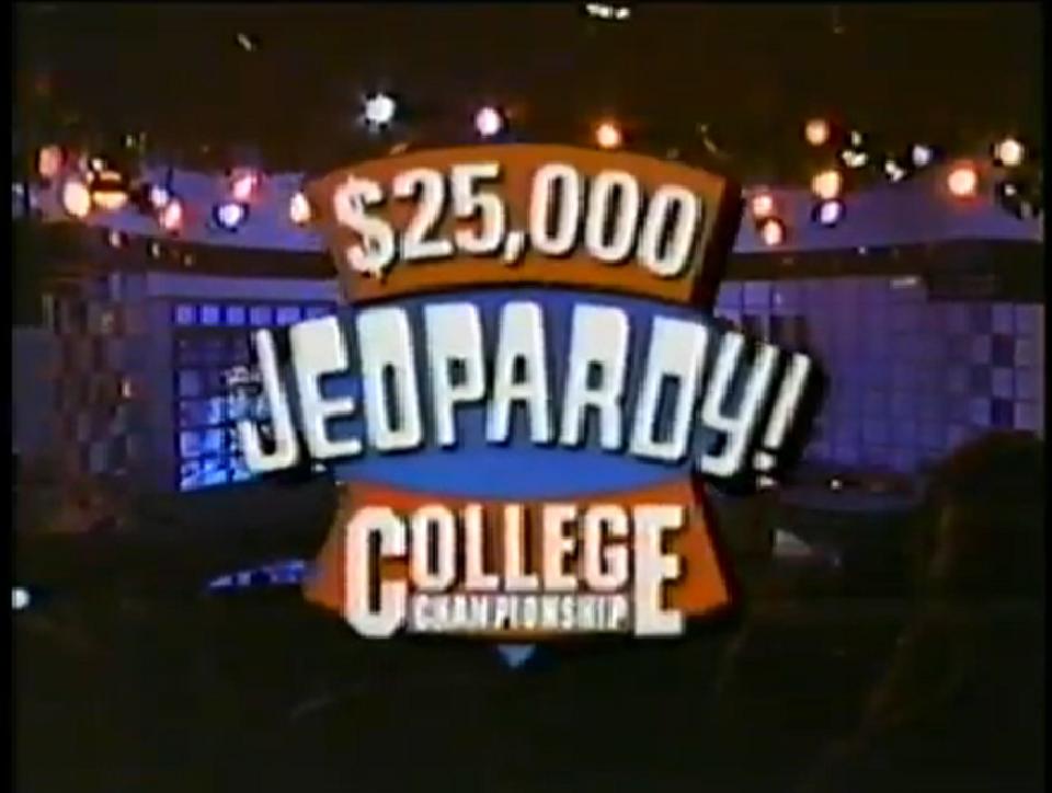 Jeopardy! College Championship 1992 by JDWinkerman on ...