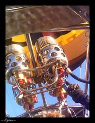 Hot air balloon burners by Rykan