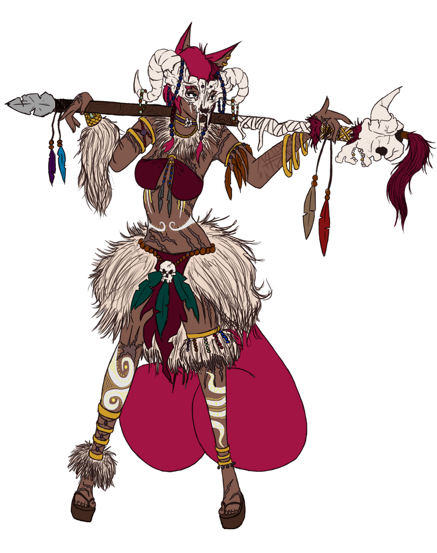 Fun Times for the Witch Doctor by spaghettiiboobz on DeviantArt