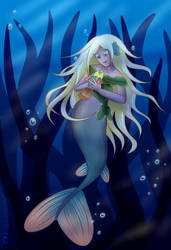 mermaid by TheApatheticKat