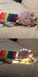 crona plushie says lgbt rights! by TheApatheticKat