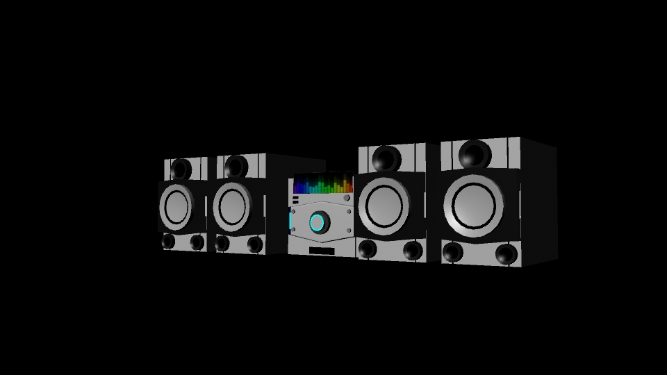 Stereo System by Yroshima