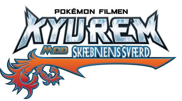 Pokemon Kyurem VS The Sword of Justice Danish logo by munlax